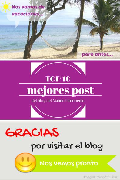 Los diez mejores post del blog del mando intermedio.